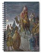 Dor�: Journey Of The Magi Spiral Notebook