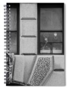 Dos Windows In Black And White Spiral Notebook