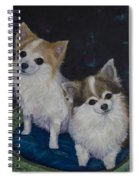Dot And Dolly Spiral Notebook