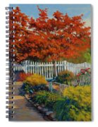 Dotti's Garden Autumn Spiral Notebook