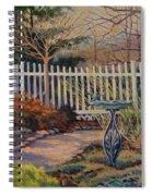 Dotti's Garden Winter Spiral Notebook