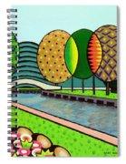 Doty Park Fluorescent Spiral Notebook