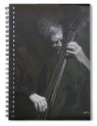 Double Bass Player Spiral Notebook