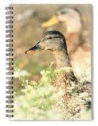 Double Duck Spiral Notebook
