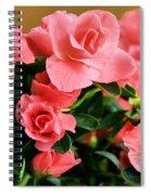 Double Leaf Azaleas Spiral Notebook