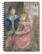 Double Portrait Of Charley And Jeannie Thomas Spiral Notebook