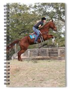 Double Up Hill Jump Spiral Notebook