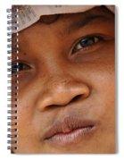 Cambodian Girl Spiral Notebook