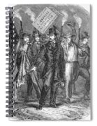 Douglas: Election Of 1860 Spiral Notebook