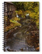 Down By The Old Mill Stream Spiral Notebook