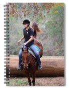 Down Hill Landing Spiral Notebook