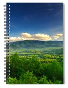Down In The Valley Spiral Notebook