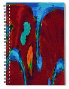 Down On My Knees Spiral Notebook