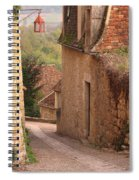 Down The Lane In Beynac France Spiral Notebook
