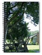 Down The Lane To The Cabin 1 Spiral Notebook