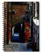 Down The Street Spiral Notebook