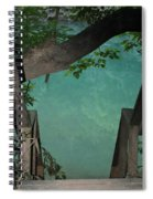 Down To The Creek Spiral Notebook