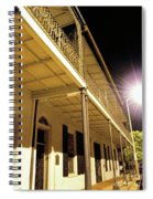 Downtown Balcony Baton Rouge Spiral Notebook