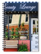 Downtown Beauty Lounge Spiral Notebook