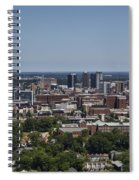 Downtown Birmingham Alabama Spiral Notebook