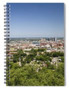 Downtown Birmingham Alabama On A Clear Day Spiral Notebook