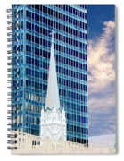 Downtown Blues Spiral Notebook