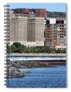 Downtown Duluth Spiral Notebook