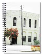 Downtown Flouresville Texas Spiral Notebook