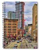 Downtown Hdr Spiral Notebook