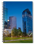 Downtown Houston Spiral Notebook