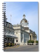 Downtown Kingston Spiral Notebook