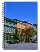 Downtown Madison I Spiral Notebook