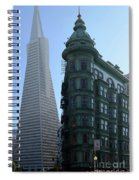 Downtown San Francisco 2 Spiral Notebook