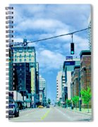 Downtown Union Ave Memphis Tn Spiral Notebook