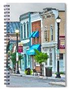 Downtown Waterville Spiral Notebook
