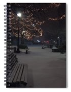 Downtown Winter Spiral Notebook