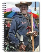 Dr. Luv In Jackson Square Spiral Notebook