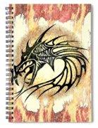 Dragon Fire Spiral Notebook