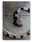 Dragon Iron Work Spiral Notebook