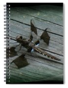 Common Whitetail Dragonfly Spiral Notebook