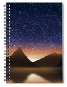 Dramatic Landscape  Spiral Notebook