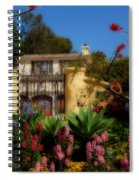 Dream Cottage In Malibu Spiral Notebook
