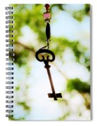 Dream Key Spiral Notebook