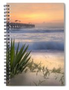 Dreams By The Sea Spiral Notebook