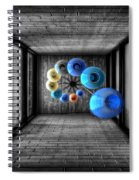Dreams Of Shade And Light Spiral Notebook