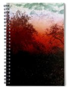 Dreamscape Sunset - Abstract Spiral Notebook