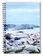 Dreamy Coastal Scene Spiral Notebook