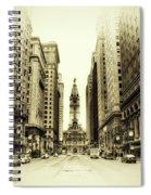 Dreamy Philadelphia Spiral Notebook