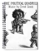 Dred Scott & The 1860 Presidential Race Spiral Notebook