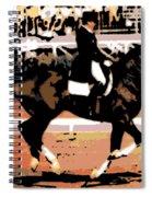 Dressage Competition Spiral Notebook